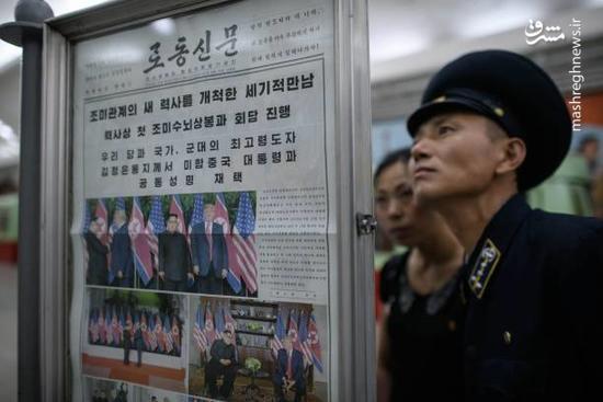 عکس/ کرهشمالی یک روز بعد از امضای سندهمکاری