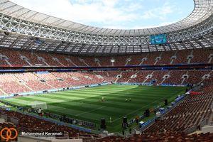 عکس/ استادیوم دیدار افتتاحیه جام جهانی 2018,