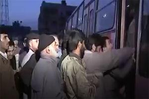فیلم/حال و هوای تهرانی ها در نماز عیدفطر سال1374