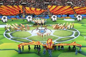 حرکت جنجالی خواننده افتتاحیه جام جهانی