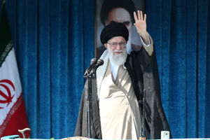 حاشیههای اقامه نماز عیدفطر به امامت رهبر انقلاب
