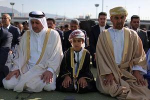 عکس/ مهمانان خارجی نماز عید سعید فطر در مصلی تهران