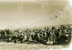 نماز عید فطر شهرستان هرسین؛ سال ۴۲