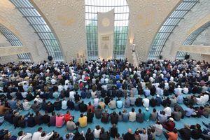 عکس/ نماز عید فطر در آلمان