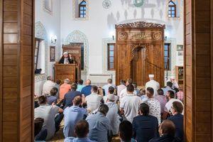 عکس/ نماز عید فطر در مونته نگرو