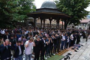 عکس/ نماز عید فطر در بوسنی و هرزگوین
