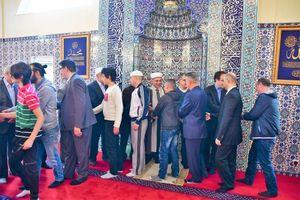 عکس/ نماز باشکوه عیدفطر در سوئد