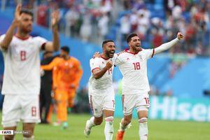 عکس/ پیروزی ایران مقابل مراکش