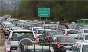 آخرین وضعیت ترافیکی در مرزهای سه گانه