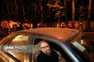 عکس/ مسعود کیمیایی در کارناوال شادی بُرد ایران