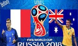 اعلام ترکیب تیمهای فرانسه و استرالیا