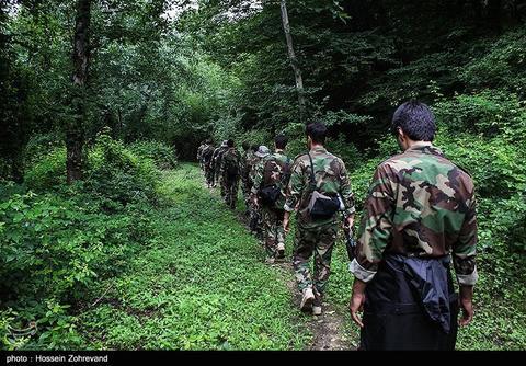 استقرار تیپ نیرو مخصوص سپاه در منطقه حادثهدیده رودسر