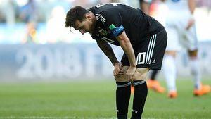 واکنش مسی به از دست دادن پنالتی