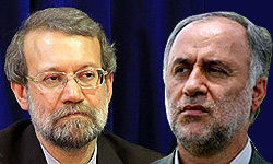 علی لاریجانی و حاج بابایی
