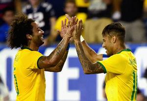 انتخاب کاپیتان برزیل مقابل سوئیس