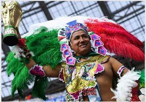 عکس/ تماشاگران دیدار آلمان و مکزیک