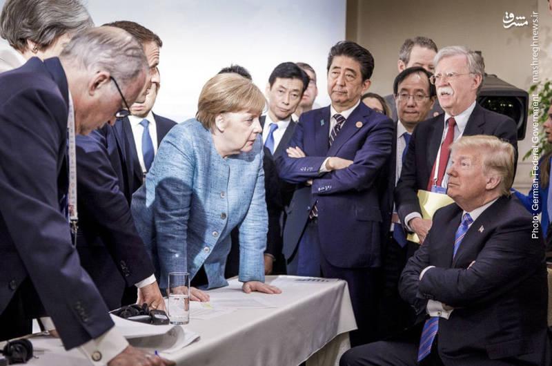شکاف علنی در نشست گروه هفت به ترک زودهنگام کِبِک از سوی دانلد ترامپ رئیسجمهور آمریکا و عدم امضای بیانیه پایانی از سوی وی کشیده شد.