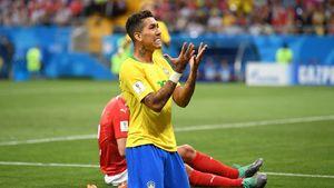 فیرمینیو دیدار برزیل و سوئیس