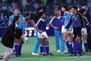 آرژانتین نایب قهرمان 1990