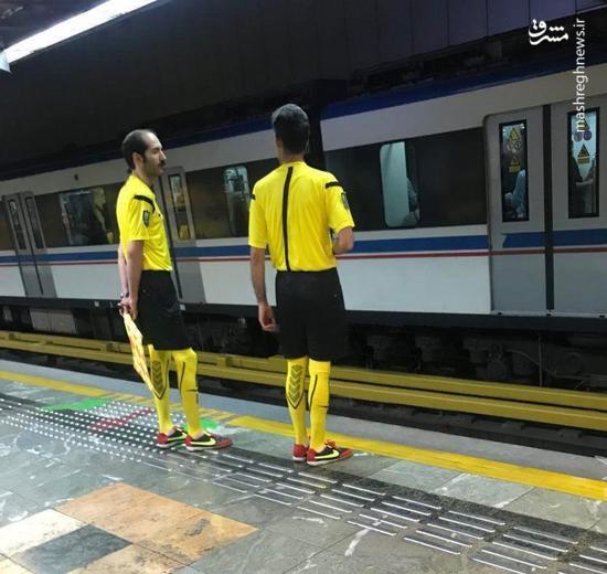 نوآوری شهرداری تهران با تبلیغ نایک! +عکس
