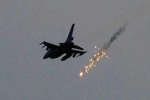 حمله جنگندههای آمریکایی به پادگان حزبالله در سوریه