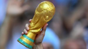 عکس/ کاپ برنجی برای قهرمان جام جهانی