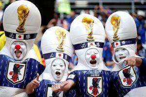 پوشش متفاوت تماشاگران ژاپنی