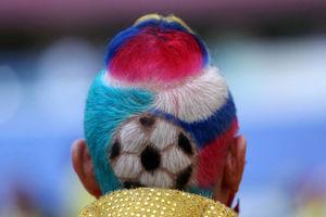 عکس/ اوج هنر یک آرایشگر در جام جهانی