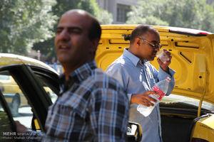 عکس/ ورود موج گرما به تهران