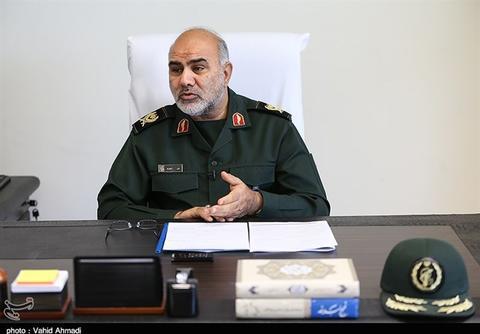 فرمانده حفاظت سپاه: آمریکا ناوهای نظامی خود را از منطقه دور کرد