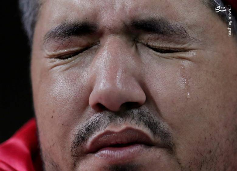 گریه هوادار تونسی پس از شکست مقابل انگلیس