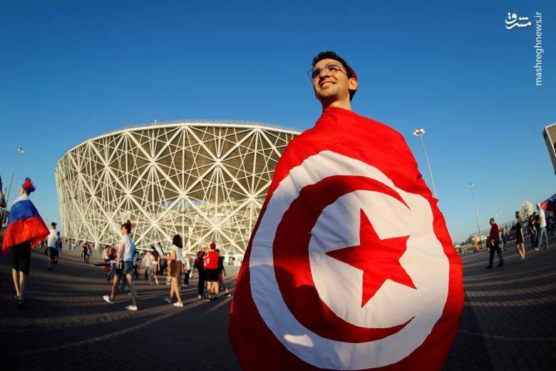 هواداران تیم ملی تونس