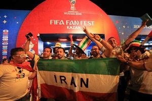 کازان در تسخیر هواداران ایرانی