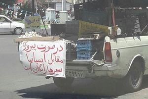 عکس/ سیر رایگان در صورت برد ایران