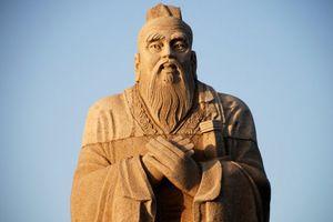فیلم/ خلق چهره کنفوسیوس در شالیزار