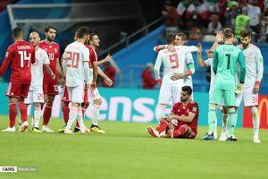 نیمه دوم ایران و اسپانیا