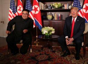 فرش ایرانی در دیدار ترامپ و اون