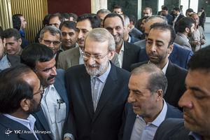 عکس/حضور لاریجانی در اجلاس شورای عالی استانها