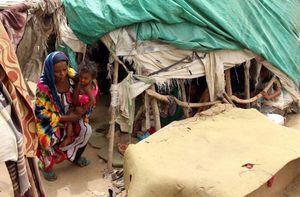 عکس/ زندگی دردناک جنگ زدگان یمنی