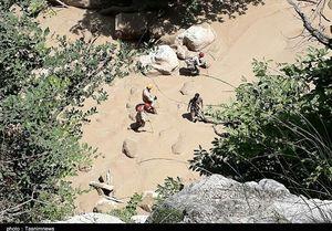 عکس/ ورود نیروهای مخصوص سپاه برای جستوجوی مفقودان سیل گیلان