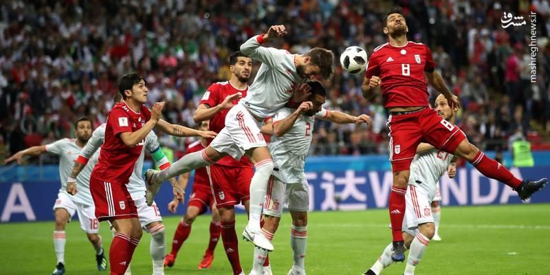 اسپانیا یک _ ایران صفر