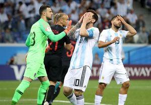 مسی - دیدار آرژانتین و کرواسی