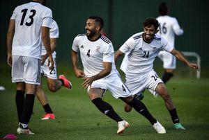 تمرین تیم ملی فوتبال ایران در مسکو