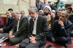 عکس/ تشییع حجتالاسلام حسینی استاد اخلاق