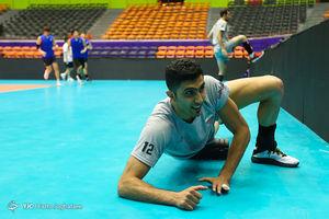 تمرین تیم ملی والیبال در آستانه هفته پنجم لیگ ملتها