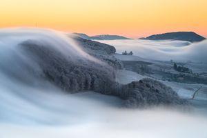 تصویری زیبا از کوههای شمال سوئد