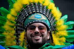 تیپ خاص هوادار تیم ملی برزیل