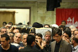 عکس/ مراسم تشییع حجت الاسلام حسینی