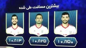 فیلم/ تحلیل آمار رسمی فیفا درباره عملکرد بازیکنان ایران برابر اسپانیا