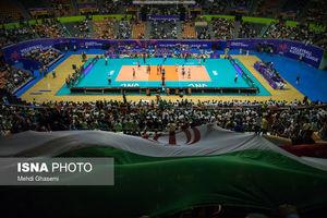 عکس/ مسابقه والیبال تیمهای ملی ایران و کره جنوبی,